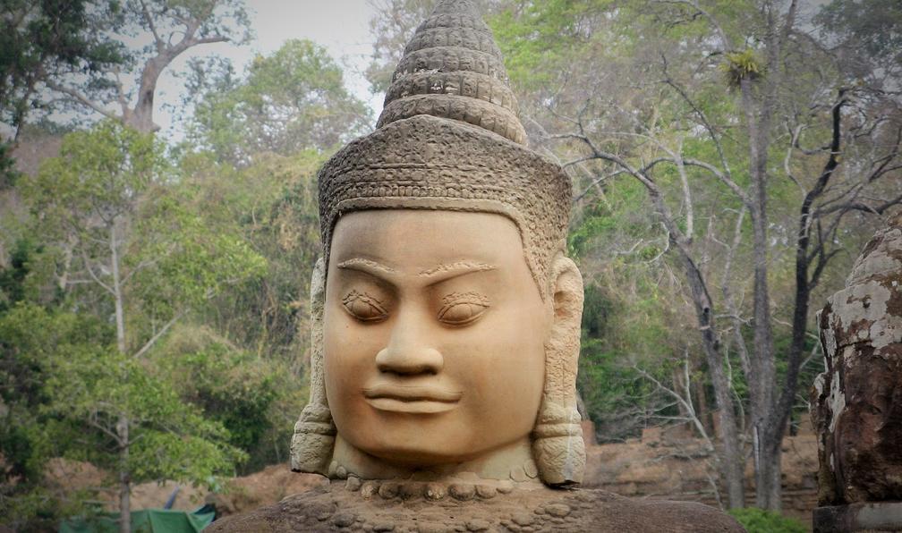 Image Angkor et mer turquoise