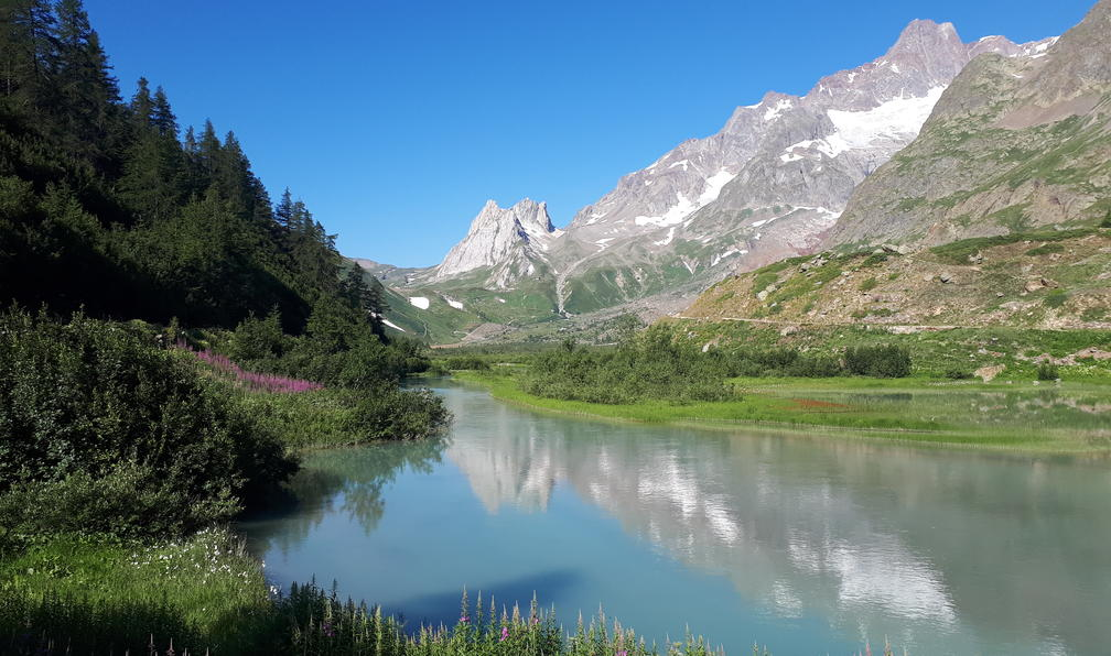 Image Les panoramas du mont blanc