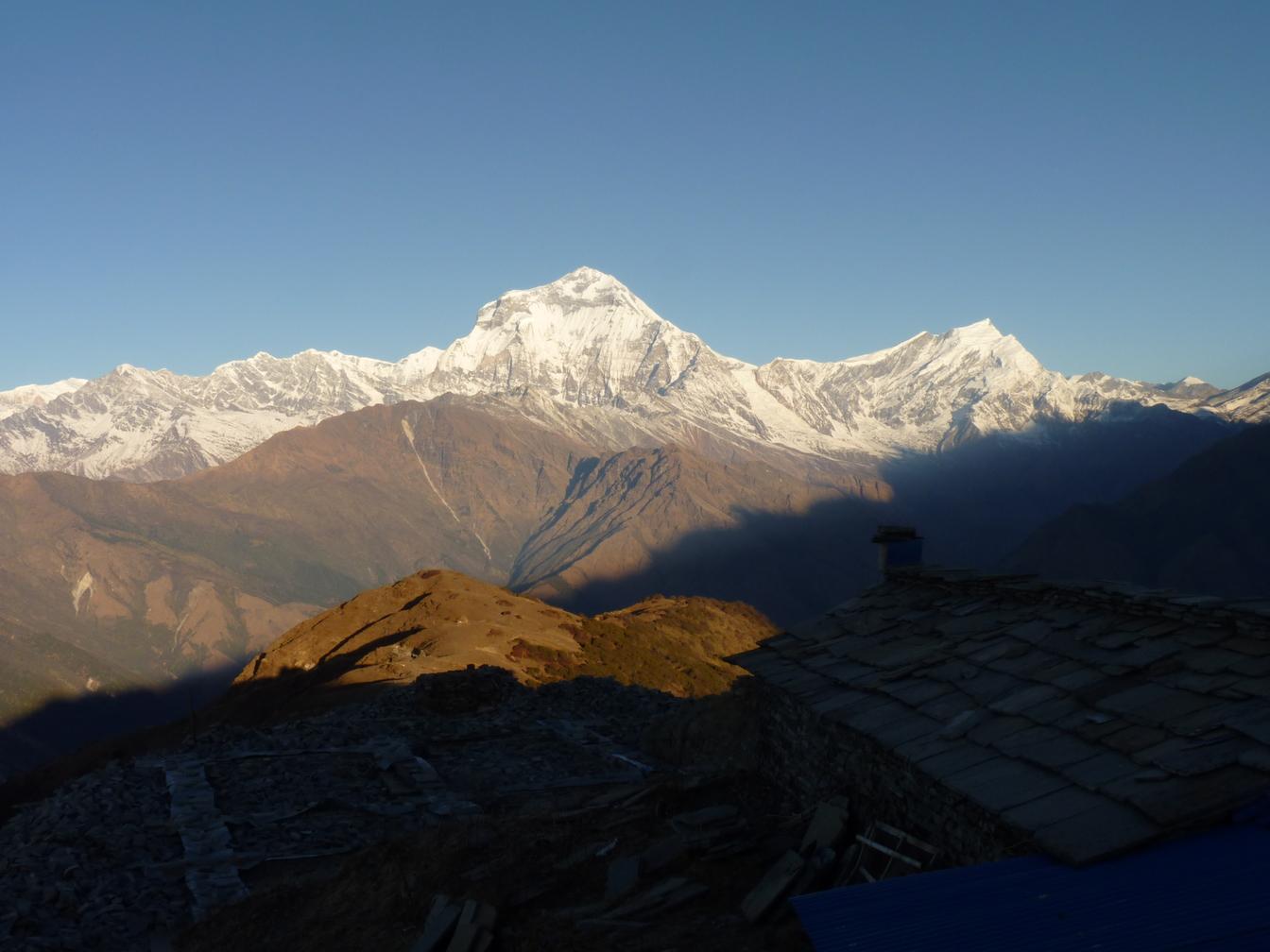 Annapurnas Balcon Kopra Dhaulagiri Et Ridge Des qw8zSF