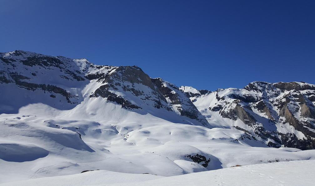 Image Pyrénées : neiges du parc national