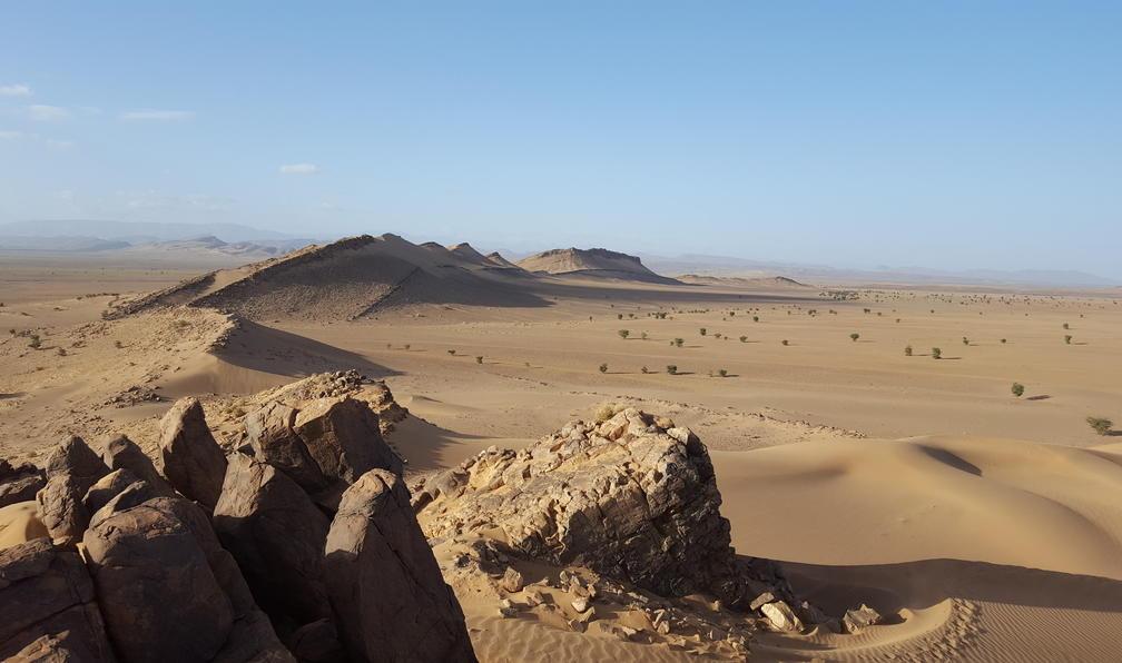 Image Là-bas au sud, le désert