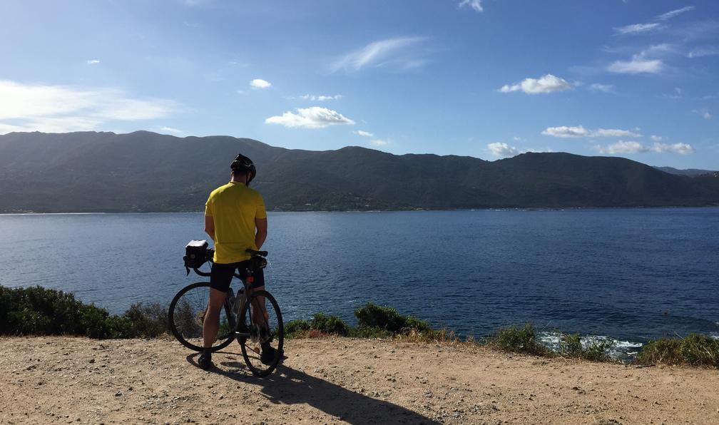 Image De bastia à ajaccio par la côte ouest à vélo